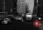 Image of crowded Fifth Avenue New York  New York City USA, 1946, second 18 stock footage video 65675041739