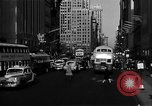Image of crowded Fifth Avenue New York  New York City USA, 1946, second 19 stock footage video 65675041739