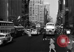 Image of crowded Fifth Avenue New York  New York City USA, 1946, second 20 stock footage video 65675041739