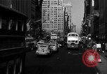 Image of crowded Fifth Avenue New York  New York City USA, 1946, second 22 stock footage video 65675041739