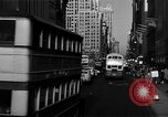 Image of crowded Fifth Avenue New York  New York City USA, 1946, second 23 stock footage video 65675041739