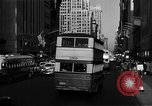 Image of crowded Fifth Avenue New York  New York City USA, 1946, second 25 stock footage video 65675041739