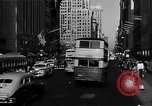 Image of crowded Fifth Avenue New York  New York City USA, 1946, second 26 stock footage video 65675041739