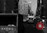 Image of crowded Fifth Avenue New York  New York City USA, 1946, second 28 stock footage video 65675041739