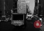 Image of crowded Fifth Avenue New York  New York City USA, 1946, second 29 stock footage video 65675041739