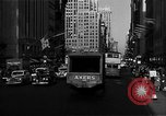 Image of crowded Fifth Avenue New York  New York City USA, 1946, second 30 stock footage video 65675041739