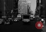 Image of crowded Fifth Avenue New York  New York City USA, 1946, second 31 stock footage video 65675041739
