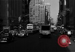 Image of crowded Fifth Avenue New York  New York City USA, 1946, second 32 stock footage video 65675041739