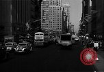 Image of crowded Fifth Avenue New York  New York City USA, 1946, second 33 stock footage video 65675041739