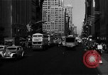 Image of crowded Fifth Avenue New York  New York City USA, 1946, second 34 stock footage video 65675041739