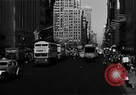 Image of crowded Fifth Avenue New York  New York City USA, 1946, second 35 stock footage video 65675041739