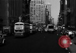 Image of crowded Fifth Avenue New York  New York City USA, 1946, second 36 stock footage video 65675041739