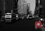 Image of crowded Fifth Avenue New York  New York City USA, 1946, second 37 stock footage video 65675041739
