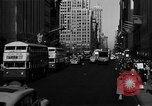 Image of crowded Fifth Avenue New York  New York City USA, 1946, second 38 stock footage video 65675041739