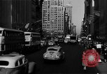 Image of crowded Fifth Avenue New York  New York City USA, 1946, second 40 stock footage video 65675041739
