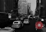 Image of crowded Fifth Avenue New York  New York City USA, 1946, second 41 stock footage video 65675041739