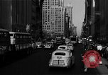 Image of crowded Fifth Avenue New York  New York City USA, 1946, second 43 stock footage video 65675041739
