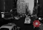 Image of crowded Fifth Avenue New York  New York City USA, 1946, second 44 stock footage video 65675041739