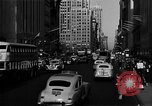 Image of crowded Fifth Avenue New York  New York City USA, 1946, second 45 stock footage video 65675041739