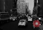 Image of crowded Fifth Avenue New York  New York City USA, 1946, second 46 stock footage video 65675041739