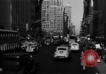 Image of crowded Fifth Avenue New York  New York City USA, 1946, second 47 stock footage video 65675041739