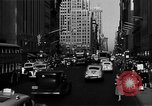 Image of crowded Fifth Avenue New York  New York City USA, 1946, second 48 stock footage video 65675041739