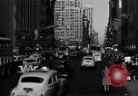 Image of crowded Fifth Avenue New York  New York City USA, 1946, second 49 stock footage video 65675041739