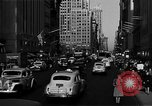 Image of crowded Fifth Avenue New York  New York City USA, 1946, second 50 stock footage video 65675041739