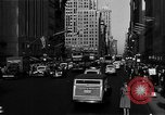 Image of crowded Fifth Avenue New York  New York City USA, 1946, second 53 stock footage video 65675041739