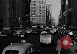Image of crowded Fifth Avenue New York  New York City USA, 1946, second 54 stock footage video 65675041739