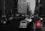 Image of crowded Fifth Avenue New York  New York City USA, 1946, second 56 stock footage video 65675041739