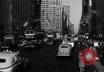 Image of crowded Fifth Avenue New York  New York City USA, 1946, second 58 stock footage video 65675041739