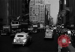 Image of crowded Fifth Avenue New York  New York City USA, 1946, second 59 stock footage video 65675041739