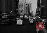Image of crowded Fifth Avenue New York  New York City USA, 1946, second 60 stock footage video 65675041739
