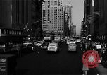 Image of crowded Fifth Avenue New York  New York City USA, 1946, second 61 stock footage video 65675041739