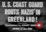 Image of United States Coast Guard Cutters on patrol off Greenland Greenland, 1944, second 3 stock footage video 65675041743