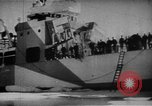 Image of United States Coast Guard Cutters on patrol off Greenland Greenland, 1944, second 24 stock footage video 65675041743