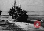 Image of United States Coast Guard transports carry amphibious forces Guadalcanal Solomon Islands, 1942, second 19 stock footage video 65675041744