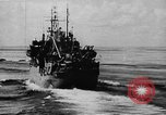 Image of United States Coast Guard transports carry amphibious forces Guadalcanal Solomon Islands, 1942, second 21 stock footage video 65675041744