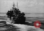 Image of United States Coast Guard transports carry amphibious forces Guadalcanal Solomon Islands, 1942, second 22 stock footage video 65675041744