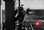 Image of United States Coast Guard transports carry amphibious forces Guadalcanal Solomon Islands, 1942, second 26 stock footage video 65675041744