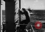 Image of United States Coast Guard transports carry amphibious forces Guadalcanal Solomon Islands, 1942, second 27 stock footage video 65675041744