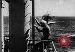 Image of United States Coast Guard transports carry amphibious forces Guadalcanal Solomon Islands, 1942, second 28 stock footage video 65675041744