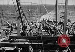 Image of United States Coast Guard transports carry amphibious forces Guadalcanal Solomon Islands, 1942, second 33 stock footage video 65675041744