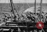 Image of United States Coast Guard transports carry amphibious forces Guadalcanal Solomon Islands, 1942, second 36 stock footage video 65675041744