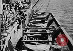 Image of United States Coast Guard transports carry amphibious forces Guadalcanal Solomon Islands, 1942, second 47 stock footage video 65675041744