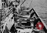 Image of United States Coast Guard transports carry amphibious forces Guadalcanal Solomon Islands, 1942, second 48 stock footage video 65675041744