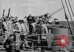 Image of United States Coast Guard transports carry amphibious forces Guadalcanal Solomon Islands, 1942, second 61 stock footage video 65675041744