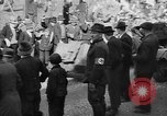 Image of Adolf Hitler personally visiting during Anschluss Vienna Austria, 1938, second 16 stock footage video 65675041759