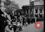 Image of Adolf Hitler personally visiting during Anschluss Vienna Austria, 1938, second 32 stock footage video 65675041759